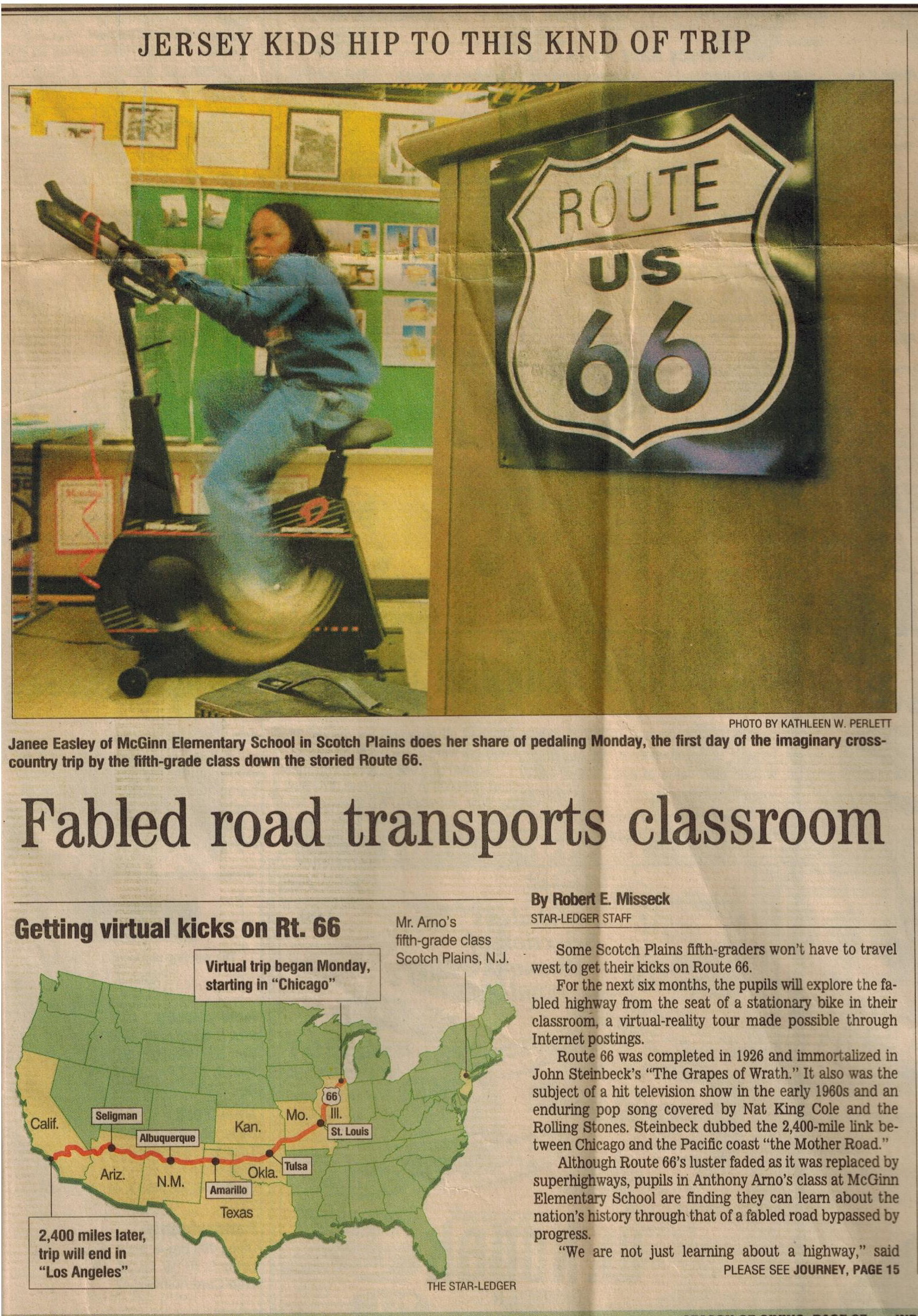 Route 66 Article