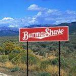 burma shave logo