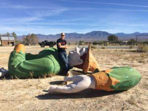 Route 66 Podcast Joel Baker American Giants 1 joel-texaco-big-friend